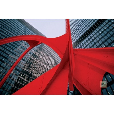 Luka Mjeda, CALDER´S RED FLAMINGO IN CHICAGO, 1986