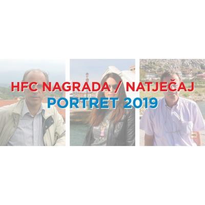 HFC Nagrada / Natječaj - PORTRET 2019