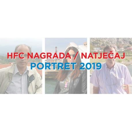 HFC Nagrada / Natječaj - PORTRET 2019 primjer
